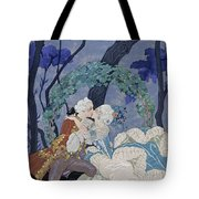 Secret Kiss Tote Bag by Georges Barbier
