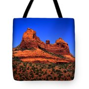Sedona Rock Formations Tote Bag by David Patterson