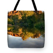 Sedona Sunset Tote Bag by Mike  Dawson