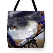 Seesaw 2aa-series Tote Bag by Reggie Duffie