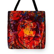 Self-portrait-5 Tote Bag by Natalie Holland