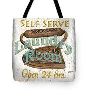 Self Serve Laundry Tote Bag by Debbie DeWitt