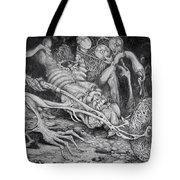 Selfpropelled Beastie Seeder Tote Bag by Otto Rapp
