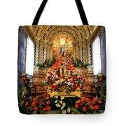 Senhor Bom Jesus da Pedra Tote Bag by Gaspar Avila