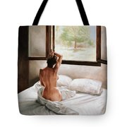 September Morning Tote Bag by John Worthington