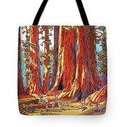 Sequoia Deer Tote Bag by Nadi Spencer