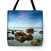 serene Tote Bag by Stylianos Kleanthous