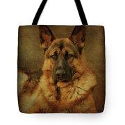 Serious Tote Bag by Sandy Keeton