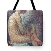 Seurat: Model, 1887 Tote Bag by Granger