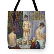 Seurat: Models, C1866 Tote Bag by Granger