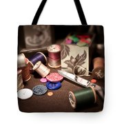 Sewing Notions I Tote Bag by Tom Mc Nemar