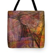 Shadow Dragon Tote Bag by John Robert Beck
