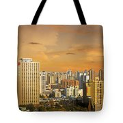 Shanghai - Paris Of The East Tote Bag by Christine Till