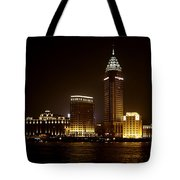 Shanghai's Bund Is Back To Its Best Tote Bag by Christine Till