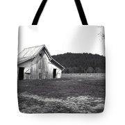 Shasta Barn Tote Bag by Kathy Yates