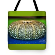 Shell With Pimples Tote Bag by Kaye Menner