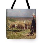 Shepherdess Tote Bag by Anton Mauve