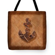Ship's Anchor Tote Bag by Tom Mc Nemar