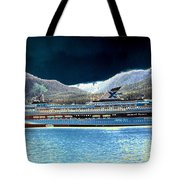 Shipshape 10 Tote Bag by Will Borden