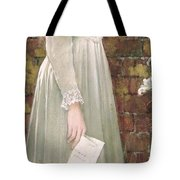 Silent Sorrow Tote Bag by Walter Langley
