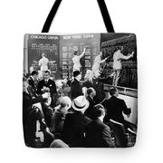 Silent Still: Banking Tote Bag by Granger