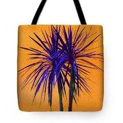 Silhouette On Orange Tote Bag by Margaret Saheed