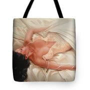 Silk And Thrill Tote Bag by Sergey Ignatenko