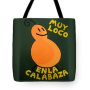Silly Squash Tote Bag by Oliver Johnston