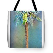 Simple Palm Tree Tote Bag by Arline Wagner