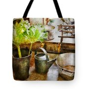 Sink - Eat Your Greens Tote Bag by Mike Savad