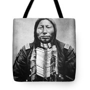 Sioux: Crow King Tote Bag by Granger