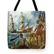Sir Francis Drake Tote Bag by Peter Jackson
