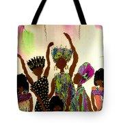 Sisterhood Tote Bag by Angela L Walker