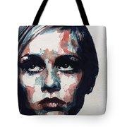 Sixties Sixties Sixties Twiggy Tote Bag by Paul Lovering