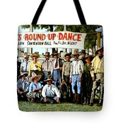 Skeeter Bill's Round Up Tote Bag by Tom Roderick