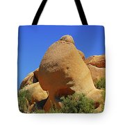 Skull Rock Joshua Tree National Park California Tote Bag by Christine Till