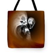 Skull Scope 2 Tote Bag by Adam Vance