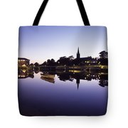 Skyline Over The R Garavogue, Sligo Tote Bag by The Irish Image Collection