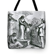 Slave Auction Tote Bag by Photo Researchers