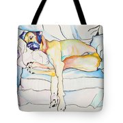 Sleeping Beauty Tote Bag by Pat Saunders-White