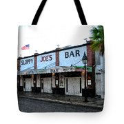 Sloppy Joe's Bar Key West Tote Bag by Bill Cannon