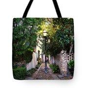Small Lane In Charleston Tote Bag by Susanne Van Hulst