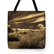 Small Town Church Tote Bag by Marilyn Hunt