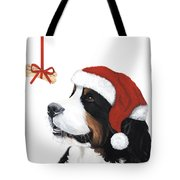 Smile Its Christmas Tote Bag by Liane Weyers