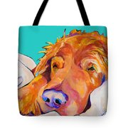 Snoozer King Tote Bag by Pat Saunders-White