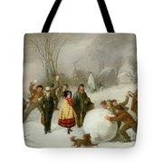 Snowballing   Tote Bag by Cornelis Kimmel