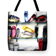 So Many Shoes... Tote Bag by Marilyn Hunt