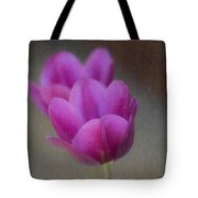 Soft Pastel Purple Tulips  Tote Bag by Teresa Mucha