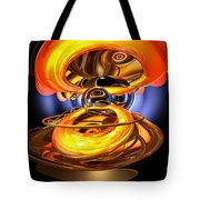 Solar Flare Abstract Tote Bag by Alexander Butler