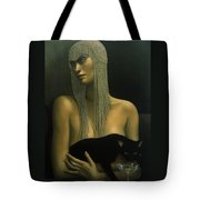 Solitare Tote Bag by Jane Whiting Chrzanoska